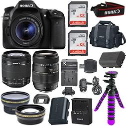 Canon EOS 80D Digital SLR Camera Body  with Built-In Wi-Fi C