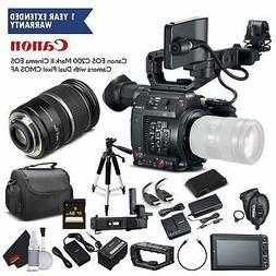 Canon EOS C200 Cinema Camera 2215C002 & 17-55MM Lens Bundle