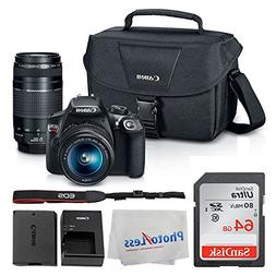 Canon EOS Rebel DSLR T6 Camera Body + Canon EF-S 18-55mm IS