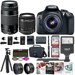 Canon EOS Rebel T6 SLR Camera: 18 Megapixel 1080p HD Video B