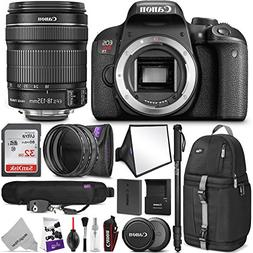 Canon EOS Rebel T7i DSLR Camera with 18-135mm Lens w/Advance