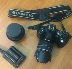 Olympus EVOLT E-510 10.0MP Digital SLR Camera. Two lenses 14