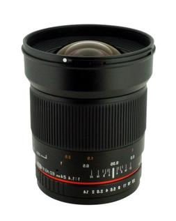 Rokinon 24mm F/1.4 Aspherical Wide Angle Lens for Pentax RK2