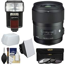 Sigma 35mm f/1.4 Art DG HSM Lens for Canon EOS DSLR Cameras