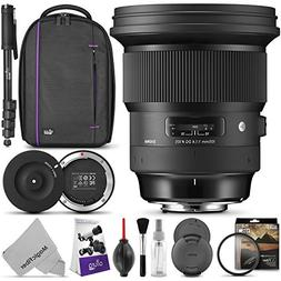 Sigma 105mm f/1.4 DG HSM Art Lens for CANON EF Sigma USB Doc