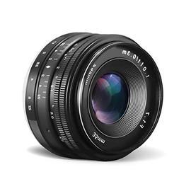 CRAPHY Compatible 35mm f/1.7 Large Aperture Manual Focus Pri