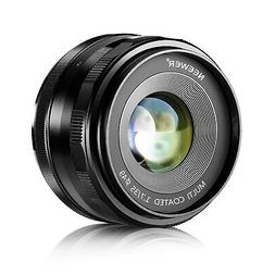Neewer 35mm f/1.7 Manual Focus Prime Fixed Lens for Olympus
