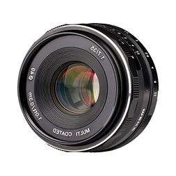 Meike 35mm f/1.7 Manual Focus Fixed Lens for Sony E Mount Di