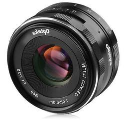 Opteka 35mm f/1.7 HD MC Manual Focus Prime Lens for Nikon 1