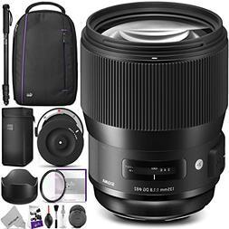 Sigma 135mm f/1.8 DG HSM Art Lens for Nikon F Cameras w/Sigm