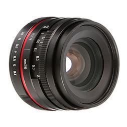 FOTGA 25mm F/1.8 Manual Focus MF Prime Lens for Panasonic Ol