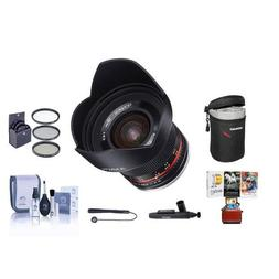Rokinon 12mm f/2.0 NCS CS Manual Focus Lens Fuji X Mirrorles