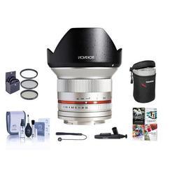 Rokinon 12mm F/2.0 Ultra Wide, Manual Focus Lens for Fujifil