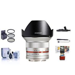 Rokinon 12mm F/2.0 Ultra Wide, Manual Focus Lens for Sony E