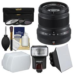 Fujifilm 50mm f/2.0 XF R WR Lens  with 3 UV/CPL/ND8 Filters
