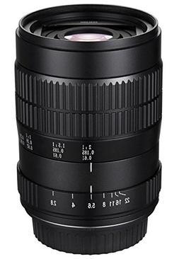 Oshiro 60mm f/2.8 2:1 LD UNC Manual Ultra-Macro Lens for Pan