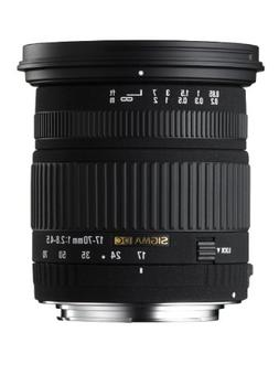 Sigma 17-70mm f/2.8-4.5 DC IF Macro Lens for Pentax and Sams