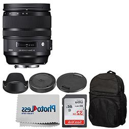 Sigma 24-70mm f/2.8 DG OS HSM Art Lens for Canon EF + Deluxe