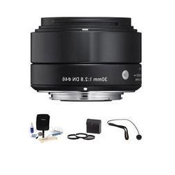 Sigma 30mm f/2.8 DN Lens for Sony E-mount Nex Series Cameras
