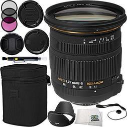 Sigma 17-50mm f/2.8 EX DC OS HSM Zoom Lens  bundle Includes