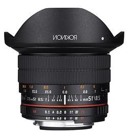 Rokinon 12mm f/2.8 Full Frame Fisheye Lens