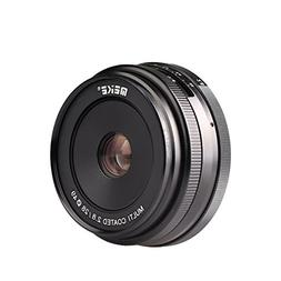 Meike 28mm f/2.8 Manual Focus Fixed Lens for Sony E Mount Di