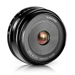 Neewer 28mm f/2.8 Manual Focus Prime Fixed Lens for SONY E-M