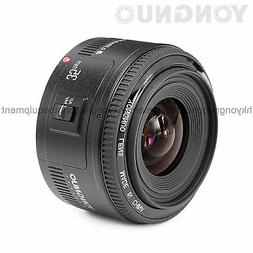 Yongnuo 35mm F/2 Lens 1:2 AF / MF Wide-Angle Auto Lens for N