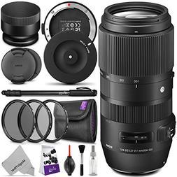 Sigma 100-400mm f/5-6.3 DG OS HSM Contemporary Lens Nikon F
