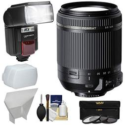 Tamron 18-200mm f/3.5-6.3 Di II VC Zoom Lens with 3 Filters