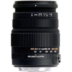 Sigma 50-200mm f/4.0-5.6 DC IF SLD Optical Stabilized  Lens