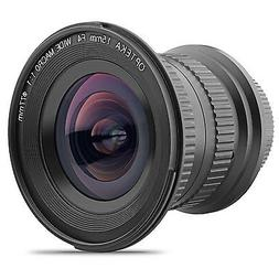 Opteka 15mm f/4 LD UNC AL Wide Angle Lens for Nikon Digital