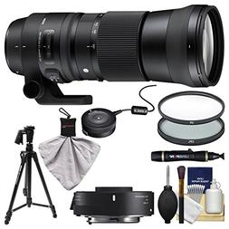 Sigma 150-600mm f/5.0-6.3 Contemporary DG OS HSM Lens & 1.4X
