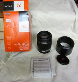 Sony 55-200mm f/4-5.6 DT AF Zoom Lens