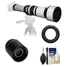 Samyang 650-1300mm f/8-16 Telephoto Lens   with 2x Teleconve