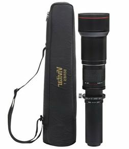 Vivitar 650-1300mm f/8-16 Telephoto Lens