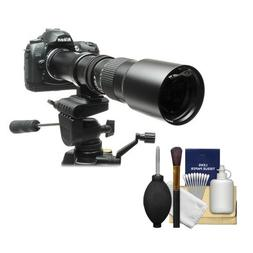 Rokinon 500mm f/8 Telephoto Lens with 2x Teleconverter  for