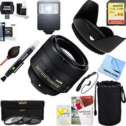 Nikon 85mm f/1.8G AF-S NIKKOR Lens for Nikon Digital Cameras