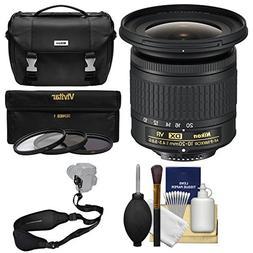 Nikon 10-20mm f/4.5-5.6G DX AF-P VR Zoom-Nikkor Lens with Ca