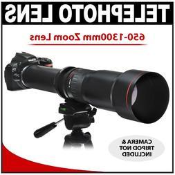 Vivitar 650-1300mm f/8-16 SERIES 1 Telephoto Zoom Lens for N