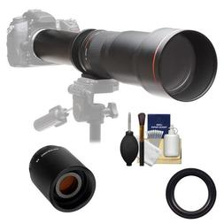 Vivitar 650-1300mm f/8-16 Telephoto Lens with 2x Teleconvert