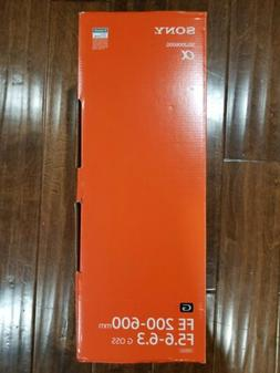 Sony FE 200-600mm F5.6-6.3 G OSS Super Telephoto Zoom Lens