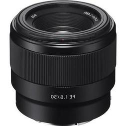 Sony FE 50mm F/1.8 Lens for E-Mount Cameras With Free Access