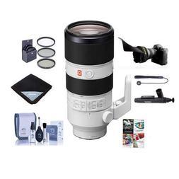Sony FE 70-200mm f/2.8 GM  OSS E-Mount NEX Camera Lens - Bun