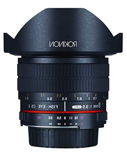 Rokinon FE8M-P 8mm F3.5 Fisheye Fixed Lens for Pentax