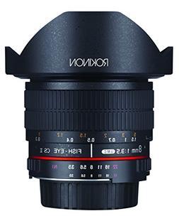 Rokinon FE8M-P 8mm F3.5 Fisheye Fixed Lens for Pentax