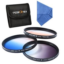 67mm filter kit, K&F Concept 67mm Slim Graduated Color Lens