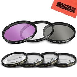 67mm 7 Piece Filter Set Includes 3 PC Filter Kit  And 4 PC C