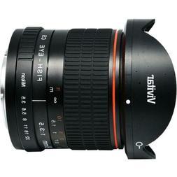 Vivitar 8mm f 3.5 HD Aspherical Fisheye Fixed Lens for Canon