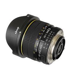 Opteka 6.5mm HD Fisheye Lens for Nikon DSLR D300 D300s D600